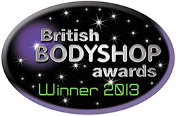 British Bodyshop Awards Winner 2013